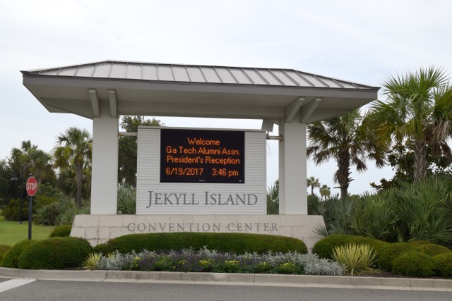 Jekyll Island stop on 2017 Summer Tour