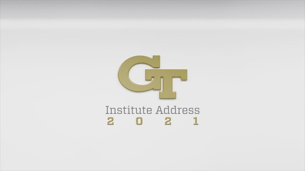 2021 Institute Address image